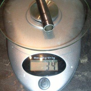 Gewicht Nicolai Weiteres/Unsortiertes Stahlachse Rahmen 70x15mm