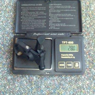 Gewicht Rock Shox Remote-/Lockout-Hebel PopLoc
