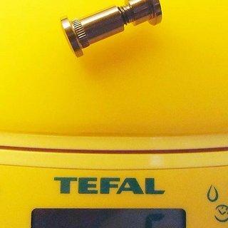 Gewicht Titaniumplanet Sattelklemme Sattelklemmbolzen-Titan Klemmbereich 17-24mm
