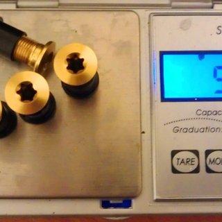 Gewicht Shimano Kettenblattschrauben Saint FC-M810/815 M8x12mm, 4x