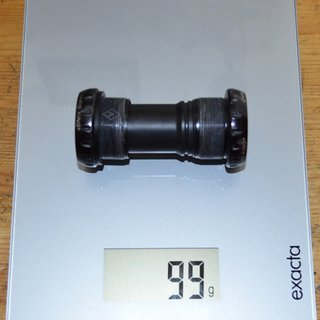 Gewicht Chris King Innenlager Threaded Bottom Brackets 68/73