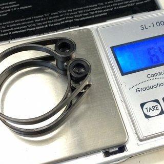 Gewicht Carbonice Sattelklemme Eva 2.0 31,8 mm