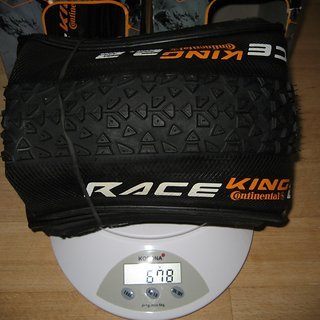 Gewicht Continental Reifen Race King Performance 29er 29 x 2.2 / 55-622