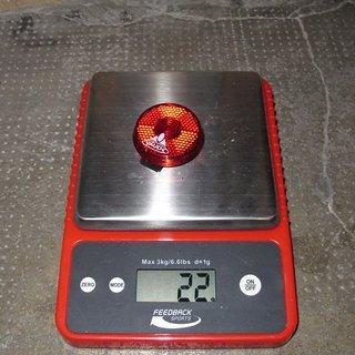 Gewicht Vaude Beleuchtung Blinking light