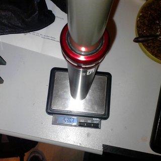 Gewicht Kind Shock Sattelstütze höhenverstellbar i900 31.6 x 385mm
