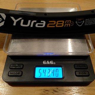 """Gewicht Ryde Felge Yura 28 29"""" / 622x28 / 32 Loch"""