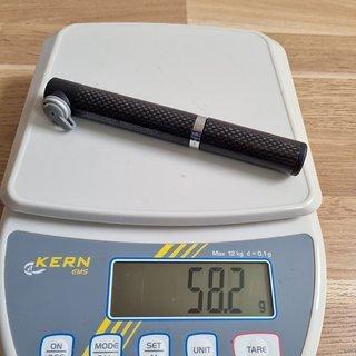 Gewicht Topeak Werkzeug MICRO ROCKET CARBON 16 x 2,4 x 2,1