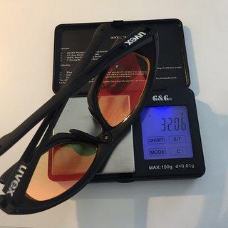 Gewicht Uvex Brillen sportstyle RXd 4000