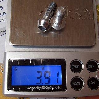 Gewicht Tune Schrauben, Muttern konische Inbusschraube M6x18.5, Al