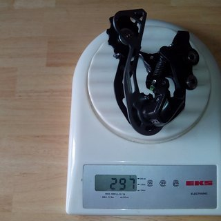 Gewicht Shimano Schaltwerk Deore RD-M610 GS Medium Cage