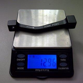 Gewicht Avid Scheibenbremsadapter Adapter PM >>> PM +20