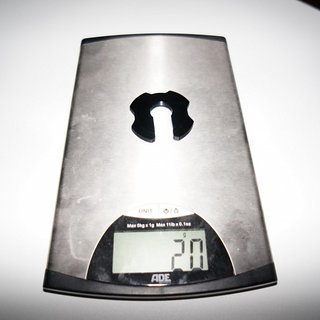Gewicht Rock Shox Feder Vivid Federteller Alu