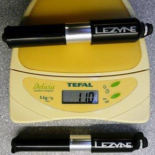 Gewicht Lezyne Werkzeug Alloy Drive Small