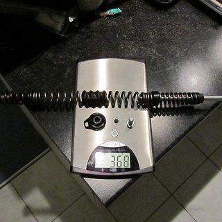 Gewicht Rock Shox Feder Sektor Federkit Dual Position Coil 120-150mm, rot (mittel)