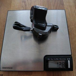 Gewicht Shimano Schalthebel XT SL-M8000 Rechts , 11-Fach