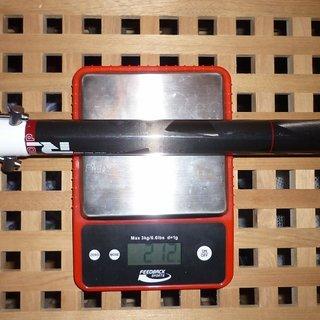Gewicht Rotwild Sattelstütze P180 Carbon 31,6 x 350mm