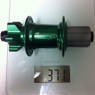 Gewicht Acros Nabe .75FR-HR, TA12, 150, grün 150mm