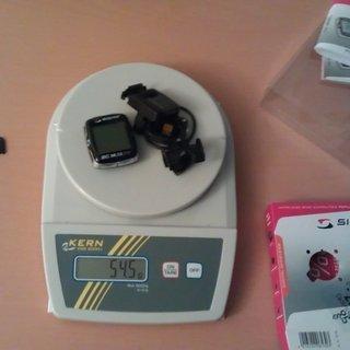 Gewicht Sigma Computer  BC 16.12 STS