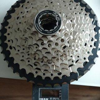 Gewicht Shimano Kassette CS-M7000-11 11-42