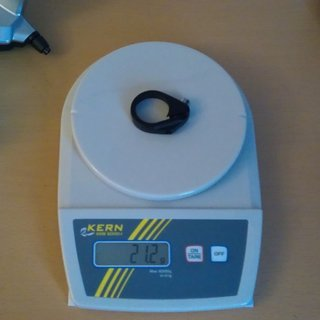 Gewicht Stevens Sattelklemme Courier SL 31,8mm