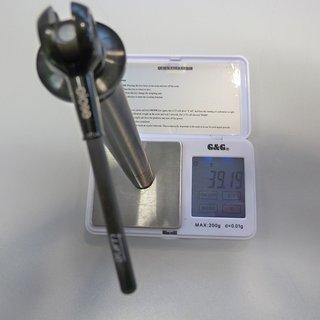 Gewicht Tune Achse DC 15 100 x 15mm