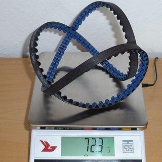 Gewicht Gates Riemenantrieb Center Track Riemen 113 Z, 11 mm