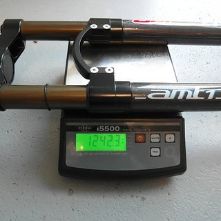 "Gewicht WR Compositi Federgabel AMT-1 29 29"" ,tapered, 100mm"