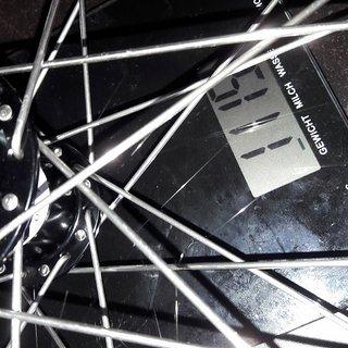 Gewicht Superstar Components Systemlaufräder DHX PRO 150 Wheelset 12x150mm und 20x110mm