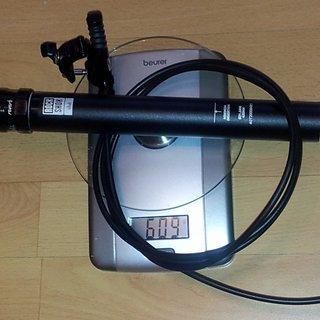Gewicht Rock Shox Sattelstütze höhenverstellbar Reverb Stealth 31.6 x 420mm