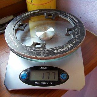 Gewicht Race Face Bashguard DH Bashguard 36Z, 104mm