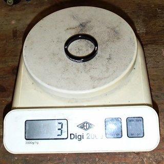 Gewicht KCNC Spacer Hollow Spacer 1⅛'', 5mm
