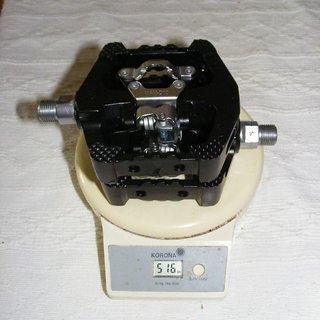Gewicht Wellgo Pedale (Sonstige) D10