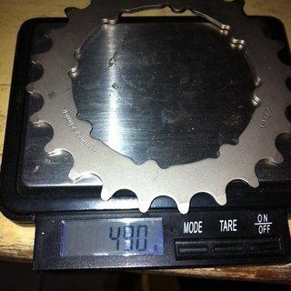 Gewicht Truvativ Kettenblatt HammerSchmidt 24Z