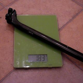 Gewicht Rose Sattelstütze RC-170 Flex Carbon 27,2