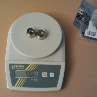 Gewicht Pitlock Weiteres/Unsortiertes Set SH38 für Shimano Getriebenabe (Zweifach)