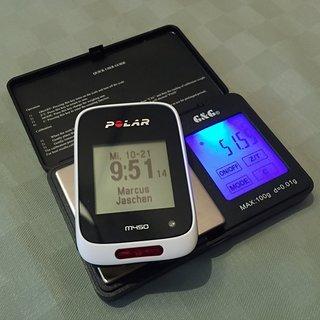 Gewicht Polar GPS M450