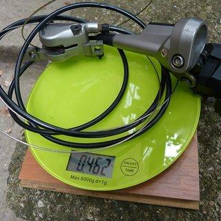 Gewicht Shimano Brems-/Schalthebel-Kombi ST-M585 1300 mm