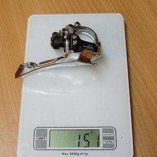 Gewicht Shimano Umwerfer Alivio FD-MC18-S 31,8mm