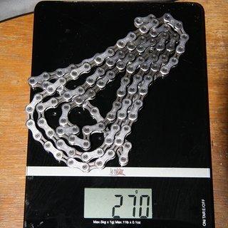 Gewicht Shimano Kette CN-6701 10-Fach