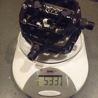 Gewicht Cube Pedale (Platform) RFR Pedale Flat mit Klick-System