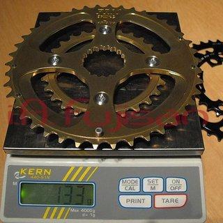 Gewicht FRM Kettenblatt Integral-System DM, 27/42Z