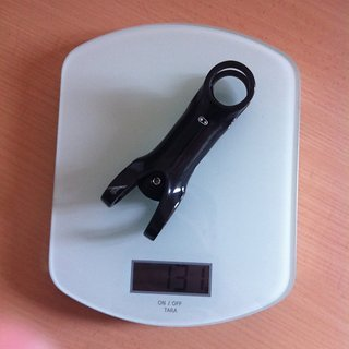 Gewicht Crank Brothers Vorbau Cobalt 11 31.8mm, 110mm, 6°