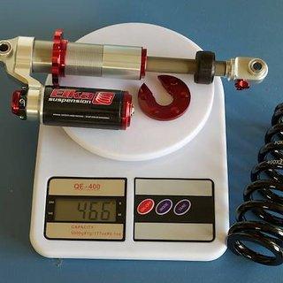 Gewicht Elka Suspension Dämpfer Stage 5 222 x 70mm