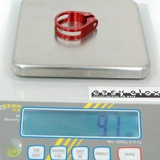 Gewicht XtasY Sattelklemme SCI-125 31,8mm