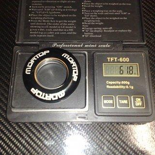 """Gewicht Mortop Steuersatz HI-65 1 1/8"""""""