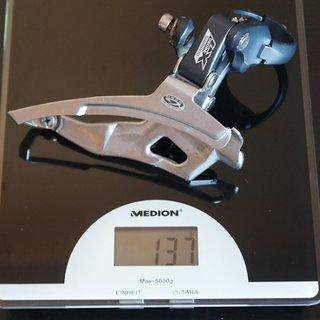 Gewicht Shimano Umwerfer LX FD-M570 34,9mm