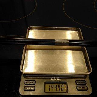 Gewicht Sapim Speiche Laser 271mm, 32 Stück