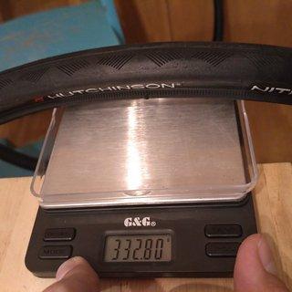 Gewicht Hutchinson Reifen Nitro 2 700-25C, 25-622