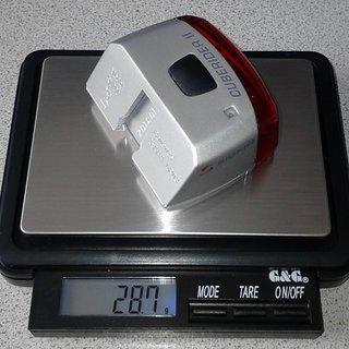 Gewicht Sigma Beleuchtung Cuberider II