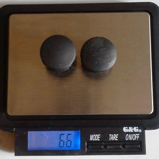 Gewicht No-Name Weiteres/Unsortiertes Lenkerendstopfen